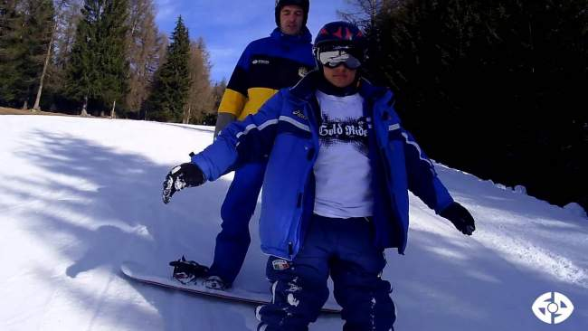 Embedded thumbnail for 6PUNTO9 SportAbili-Snowboard