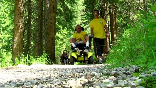 Embedded thumbnail for Sportabili: la montagna accessibile